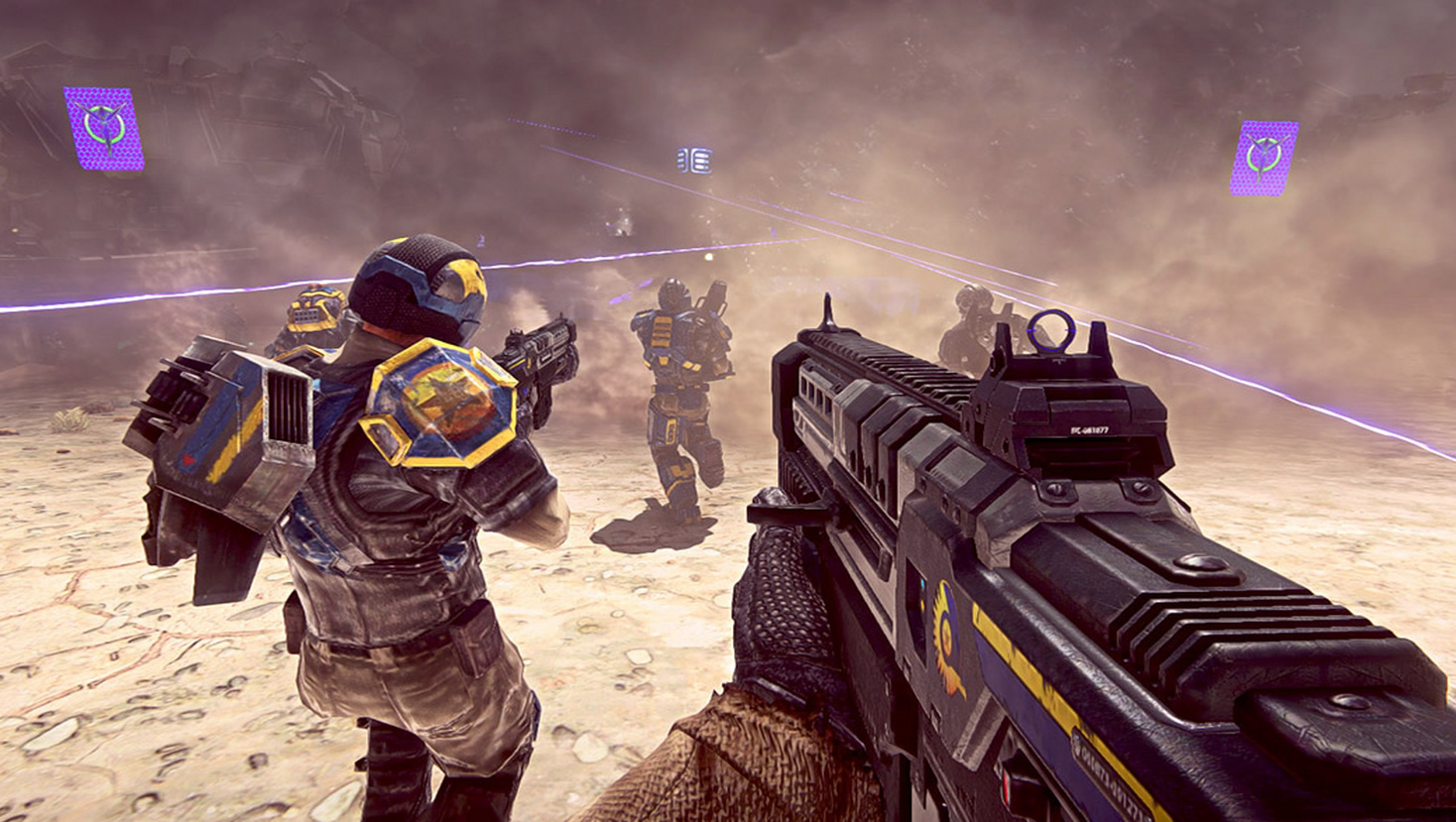 planetside 2 smoke and you the lone gamers