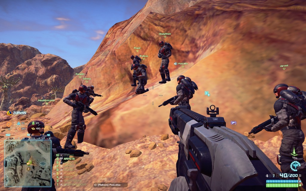 return to planetside 2 the lone gamers
