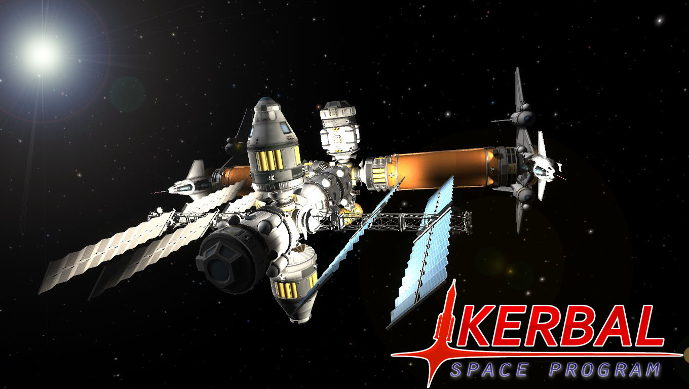 Wallpaper Kerbal Space Program