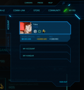 how to find your star citizen number