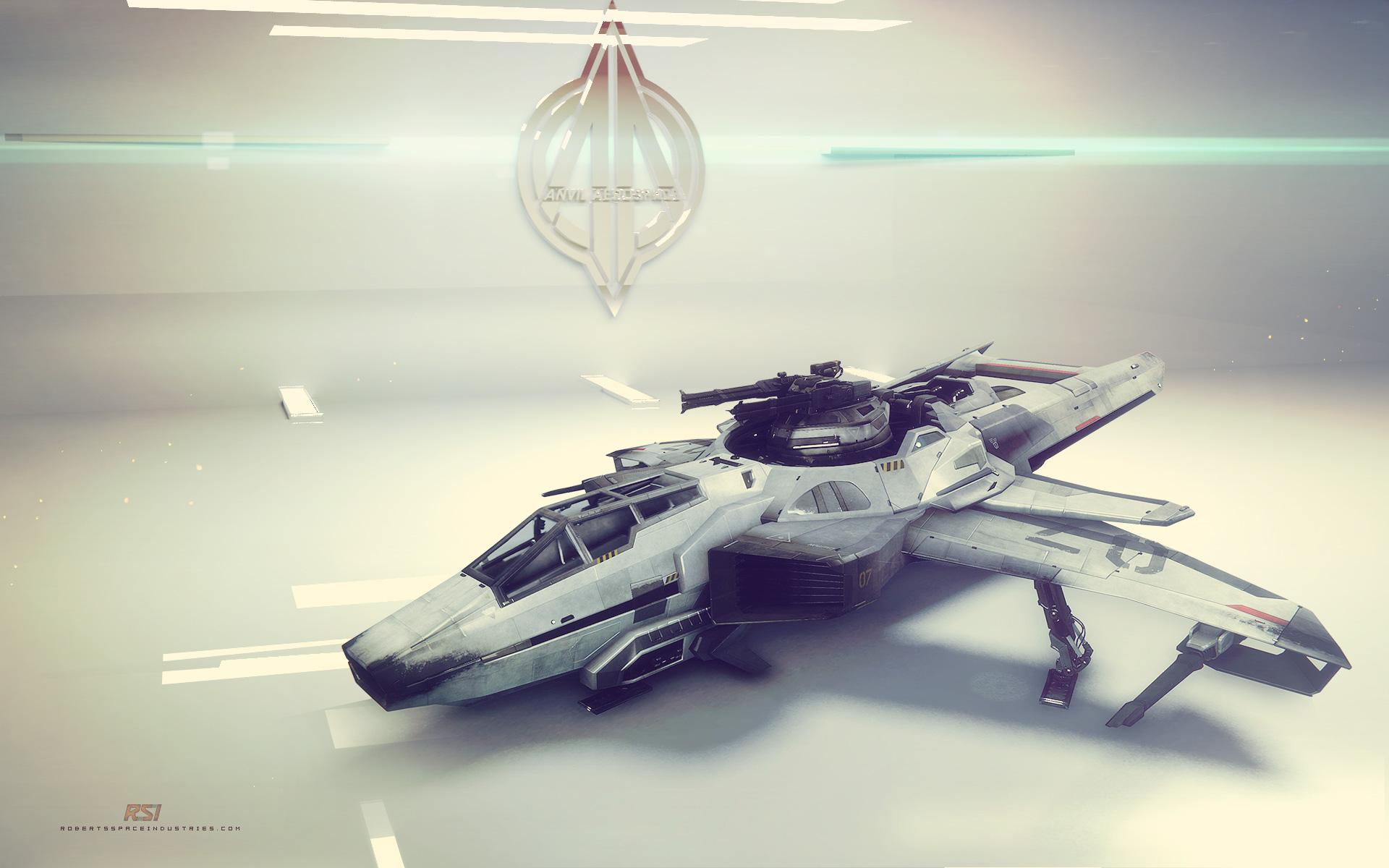 Star Citizen Desktop Backgrounds: Star Citizen - Anvil Aerospace Hornet