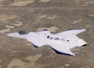 X-36 Tailless Fighter