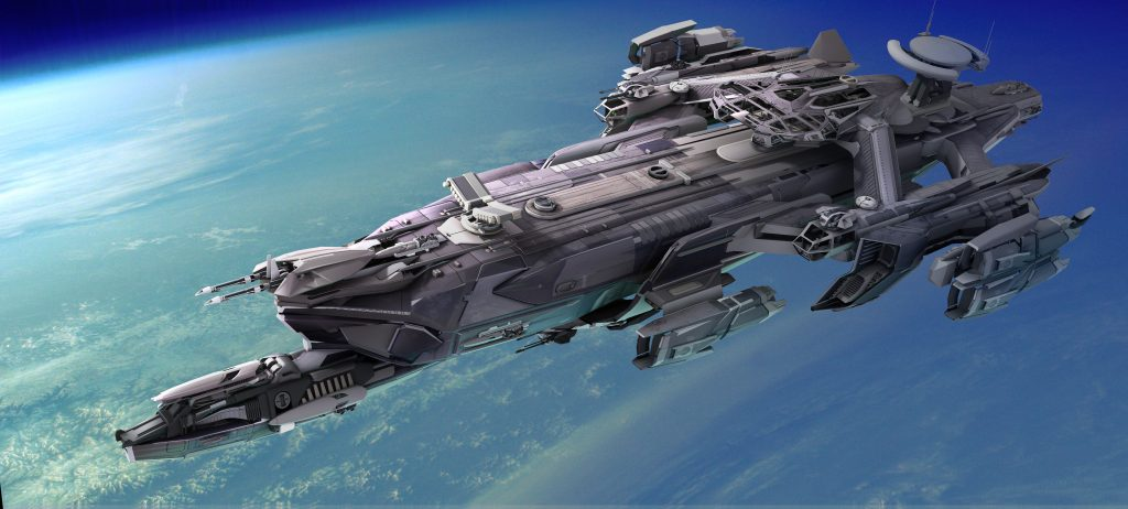 See this ship? It's the Idris and it costs $1,500. It's sold out. Players can't even fly it yet. That's what I call devotion and faith.