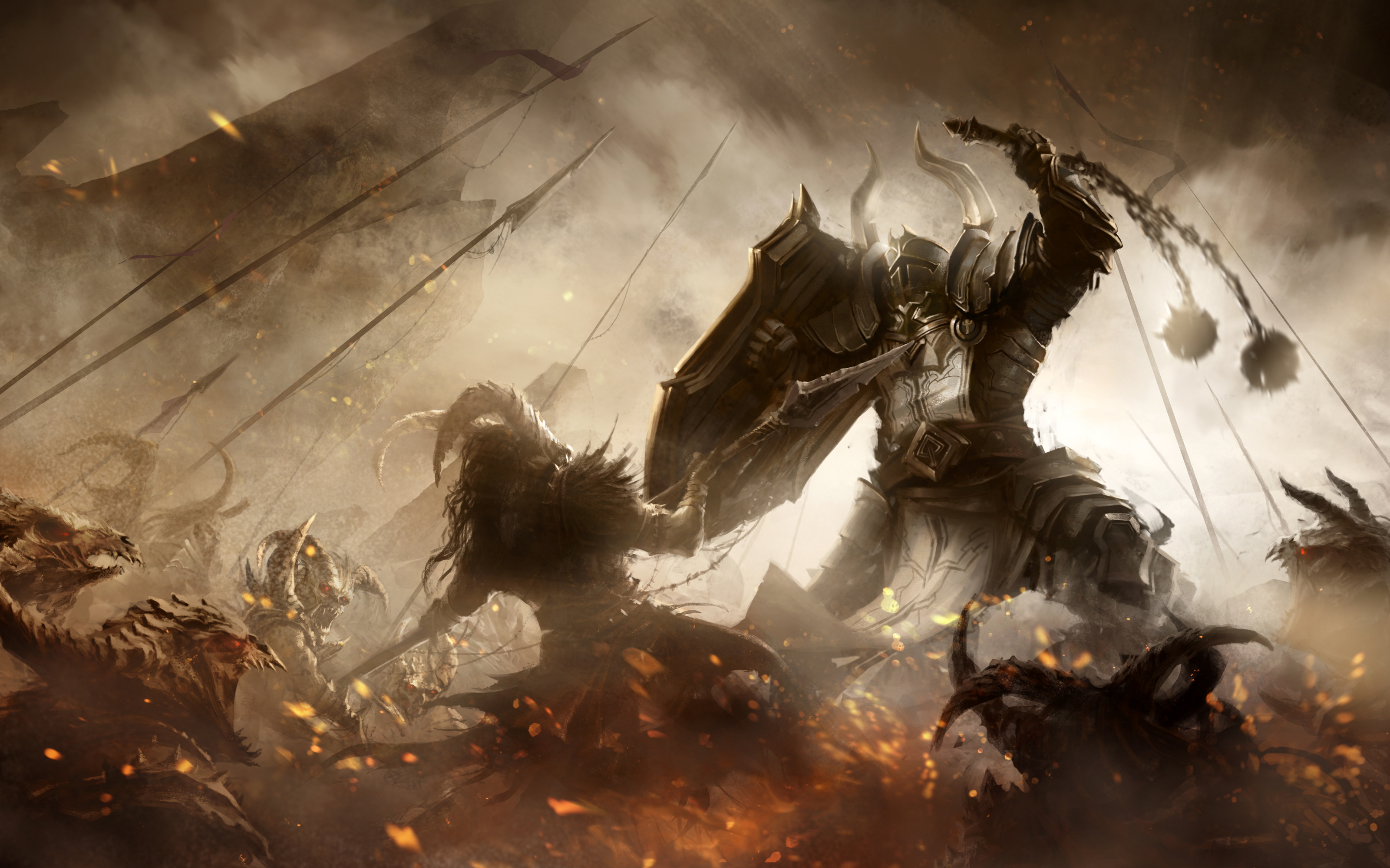 Diablo 3 Crusader Wallpaper 1920x1080 Diablo 3 Season 9 Crus...